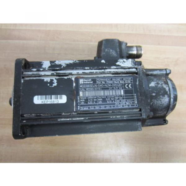 Rexroth Canada Mexico Bosch Group 255692 MDD065D-N-040-N2M-095GB1 Motor - Used #1 image
