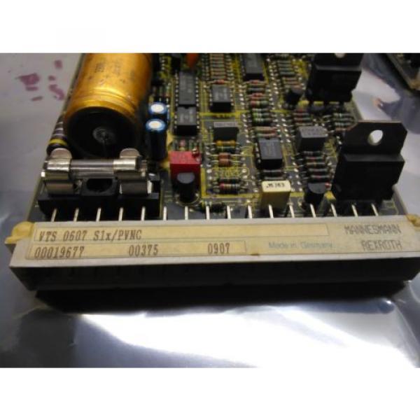 REXROTH Egypt china VTS 0607 S1x PVNC BOARD VTS0607S1x #5 image