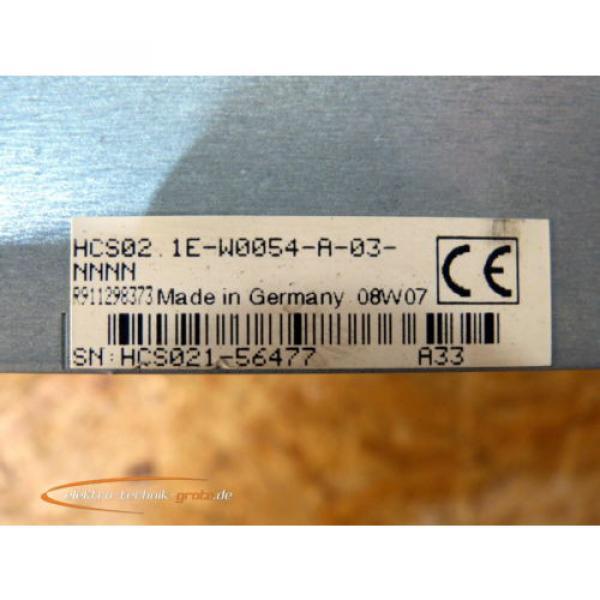 Rexroth USA Korea HCS02.1E-W0054-A-03-NNNN IndraDrive C #4 image