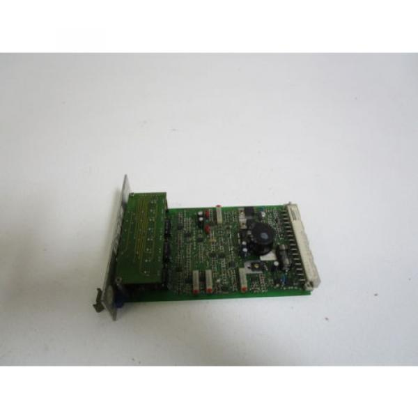 REXROTH USA Japan AMPLIFIER CARD VT3006-36a *USED* #1 image