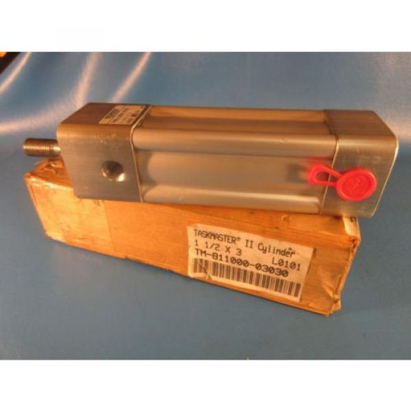 """Rexroth Russia Greece TM-811000-3030, 1-1/2x3 Task Master Cylinder, 1-1/2"""" Bore x 3"""" Stroke #1 image"""