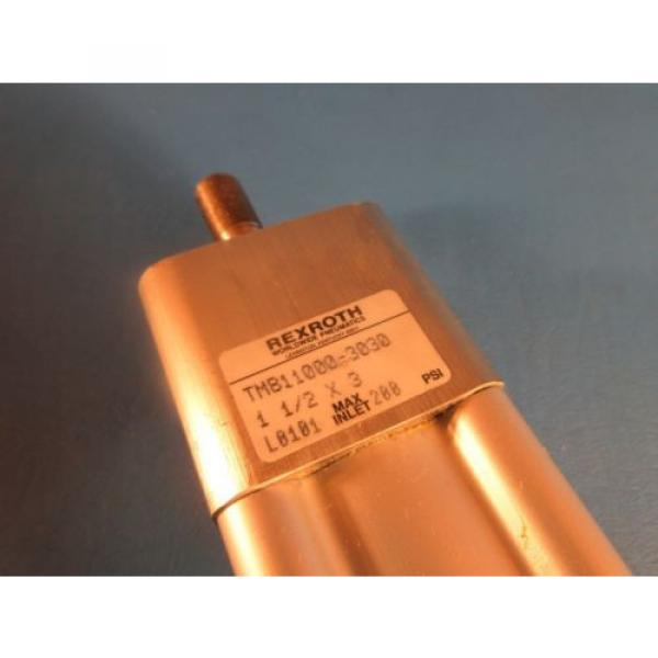 """Rexroth Russia Greece TM-811000-3030, 1-1/2x3 Task Master Cylinder, 1-1/2"""" Bore x 3"""" Stroke #2 image"""