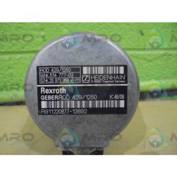 REXROTH Germany Dutch (GERBER-ROD) R911220877-13892 (429/1250) *NEW NO BOX* #1 image