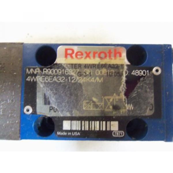REXROTH Korea Canada 4WRE6EA32-12/24K4/M *USED* #2 image