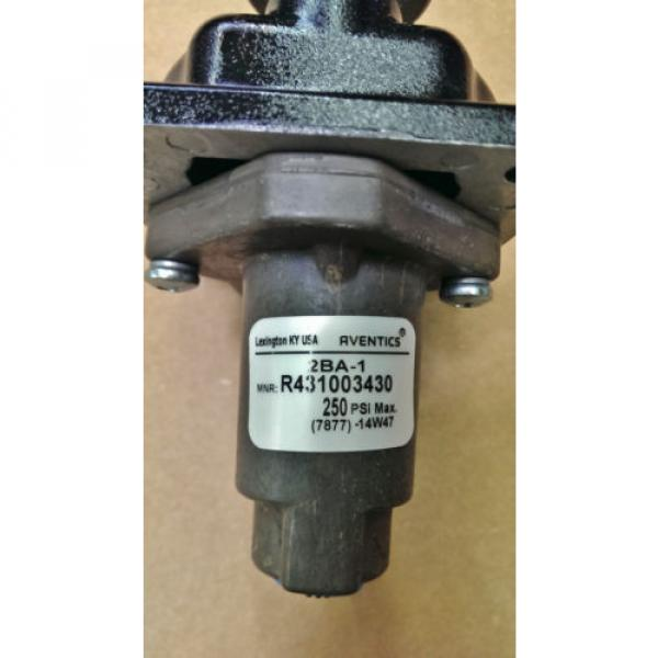 "Rexroth Greece India 2-BA-1 Push Button Operated 1/4"" Pneumatic Valve R431003430 P54692-6 #3 image"