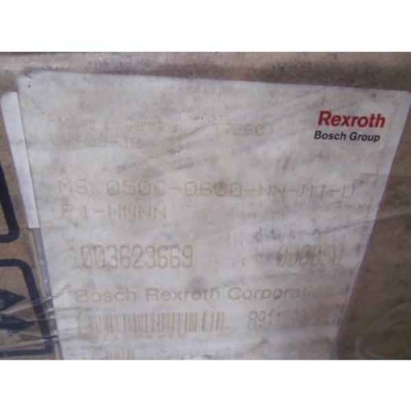 REXROTH Singapore Australia MSK050C-0600-NN-M1-UP1-NNNN SERVO MOTOR *NEW IN BOX* #2 image
