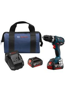 """Bosch HDS183-01 18V 1/2"""" Cordless Hammer Drill Driver Brushless Lithium-Ion NEW"""