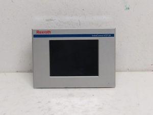 Rexroth Mexico Dutch IndraControl VCP 25 VPC25.2DVN-003-NN-NN-PW TouchScreen Alu. Front
