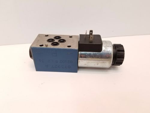 Rexroth Greece Canada Hydraulics Pneumatic directional Valve A612370 GZ45-4-A 24V Solenoid