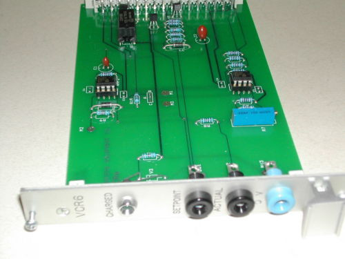 Process Australia India Equipment Co VCR6  Control Board Used Nice Rexroth (C42)