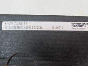 Mannesmann Australia Canada Rexroth VT5000-20/R5E #6 11110075 AMPLIFIER Card NEU OVP Versiegelt