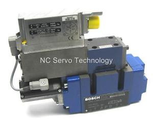New Italy India Bosch Rexroth 0811-404-662 Proportional Valve w/0811-404-605 Pilot