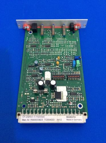 Rexroth Russia Russia VT-VSPA1-1-11DV00 Amplifier Board R900033823 NEW