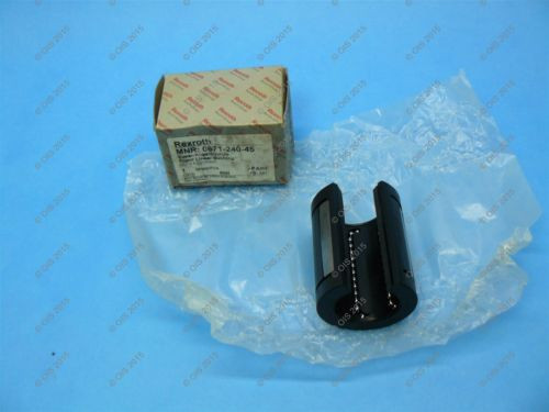 Rexroth Canada India Star 0671-240-45 Super Linear Ball Bushing Open Type 40 mm 2 Seals NIB