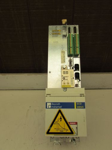 REXROTH Dutch Germany INDRAMAT ECODRIVE DKC02.3-100-7-FW XLNT USED TAKEOUT MAKE OFFER !!
