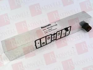 BOSCH Singapore Italy REXROTH R412011106 RQANS2