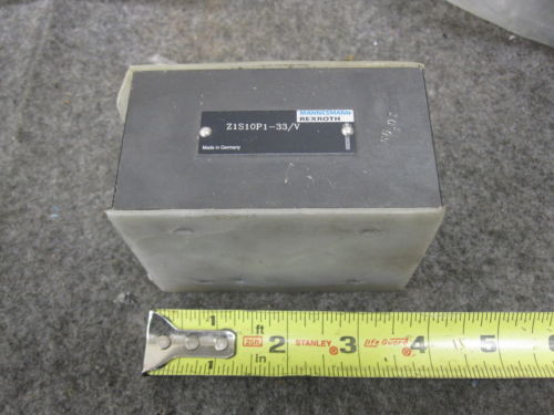 NEW USA Canada REXROTH CHECK VALVE # Z1S10P1-33/V
