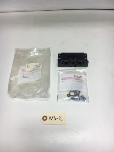 New Canada Italy Bosch Rexroth 901-N1ATF Manifold Base Kit Warranty! Fast Shipping!