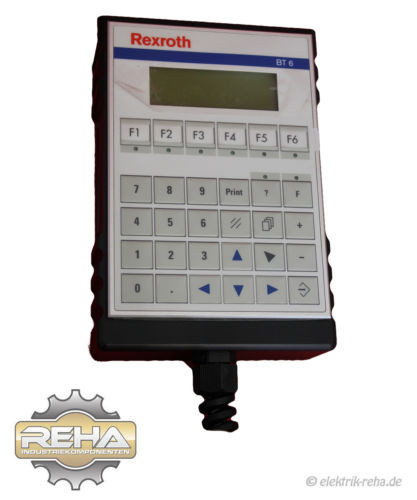 Bosch Dutch Germany OP 1070084744-103 REXROTH OPERATING AND DIAGNOSTIC TERMINAL BT 6