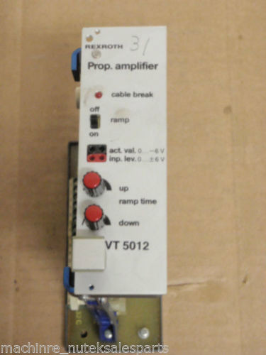 Rexroth Dutch Singapore Proportional Amplifier VT 5012 S31 R1 _ VT5012S31R1 _ VT 5O12 S31 R1
