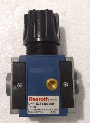 5351400200 China Egypt REXROTH 535-140-020-0 PNEUMATICS REGULATOR C4I WITH OUT FLANGE