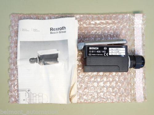 BRAND USA Greece NEW - Bosch Rexroth 0 811 405 143 Proportional Plug Amplifier