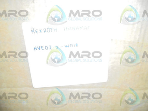 REXROTH Mexico china INDRAMAT HVE02.2-W018N AS IS *NEW IN BOX*