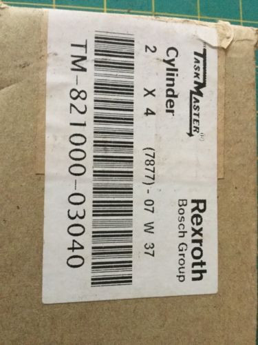 1 Russia Russia (one) 2 by 4 Rexroth Cylinder TaskMaster TM-821000-03040  NIB Unopened R27