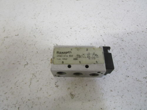 REXROTH France France VALVE 0820 038 102 (AS PICTURED) *USED*