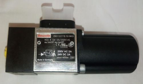 Rexroth Mexico Korea R901102778 HED 8 OA-2O/350K14S Hydro-electric Piston Pressure Switches