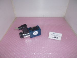 4/2 Japan Singapore way valve Rexroth No. 4WE 6 D60/SG24N9K4/V, Demag injection molding machines
