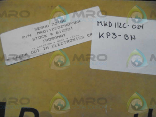 REXROTH Russia Korea INDRAMAT MKD112C-024-KP3-BN MAGNET MOTOR *NEW IN BOX*