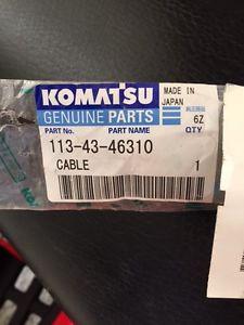 Komatsu Deacceleration Cable
