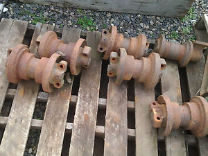 Rollers off of Komatsu PC75UU-1