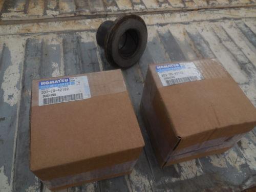 203-70-42182 Bushing's  Arm PC128uu-1 or PC130-8 Komatsu Excavator    NEW