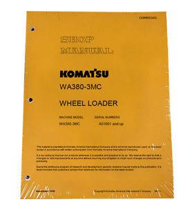 Komatsu WA380-3MC Wheel Loader Service Repair Manual #2