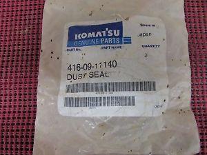 LOT OF 2 - GENUINE KOMATSU DUST SEALS PART # 416-09-11140 4160911140