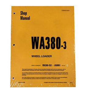 Komatsu WA380-3 Wheel Loader Service Repair Manual #2