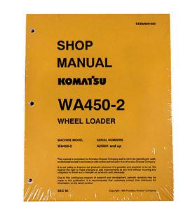 Komatsu WA450-2 Wheel Loader Service Repair Manual