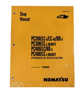 Komatsu Service PC300-5, PC300HD, PC400HD-5 Manual