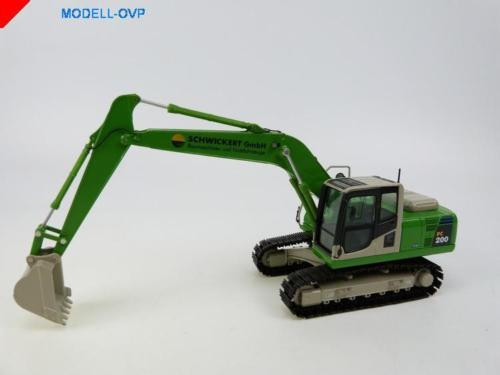 Komatsu PC 200 2012 Schwickert GmbH NZG nzg 804/03