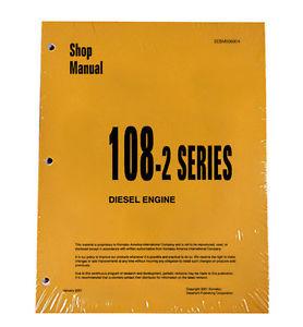 Komatsu Engine 6D108E-2 ALL 108-2 Series Service Manual