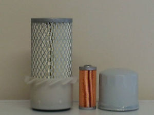 Komatsu PC05-7 w/3D68E-3, 3D72-2 Eng. S/N 8001-10616 Filter Service Kit