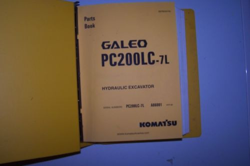 Komatsu PC200LC-7L Parts Manual