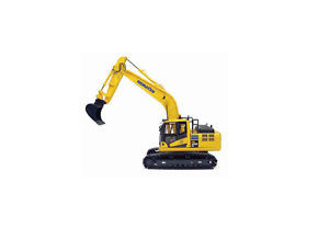 Komatsu PC210 LC Excavator Diecast Model Excavator 8093