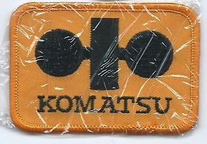 Komatsu patch 2 X 3 #755