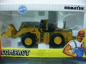 WOW EXTREMELY RARE #198 Komatsu WA 800 Wheel Loader Yellow 1:50 Joal