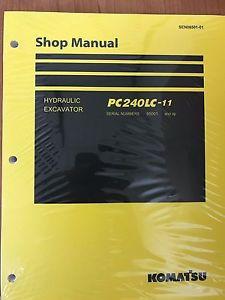 Komatsu PC240LC-11 Hydraulic Excavator Shop Repair Service Manual