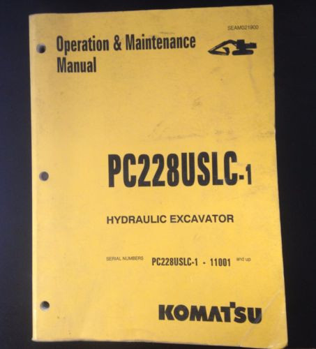Komatsu Heavy Equipment Manuals