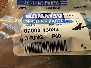 Genuine Komatsu Parts 0700013032